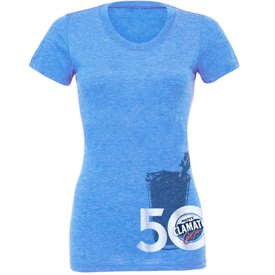 50th Anniversary designer T-shirt - Ladies