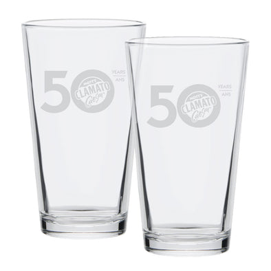 50th Anniversary Glasses (Set of 2)