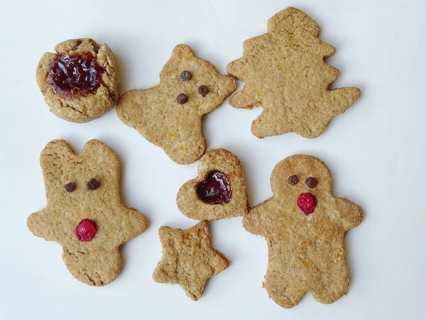 FIT  BAKERY- GINGERBREAD VEGAN CHRISTMAS COOKIES  - 250 gr