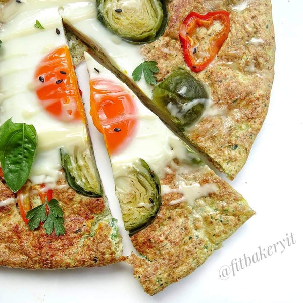 FIT BAKERY - PIZZA FITTY di ZUCCHINE