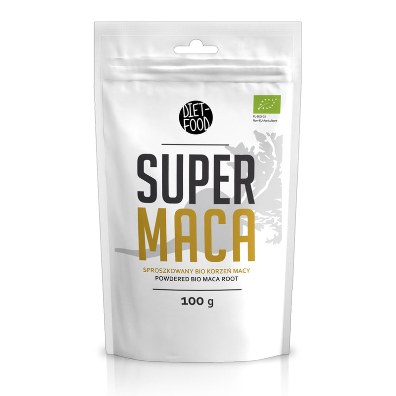 DIET FOOD - Maca in polvere BIO 200g