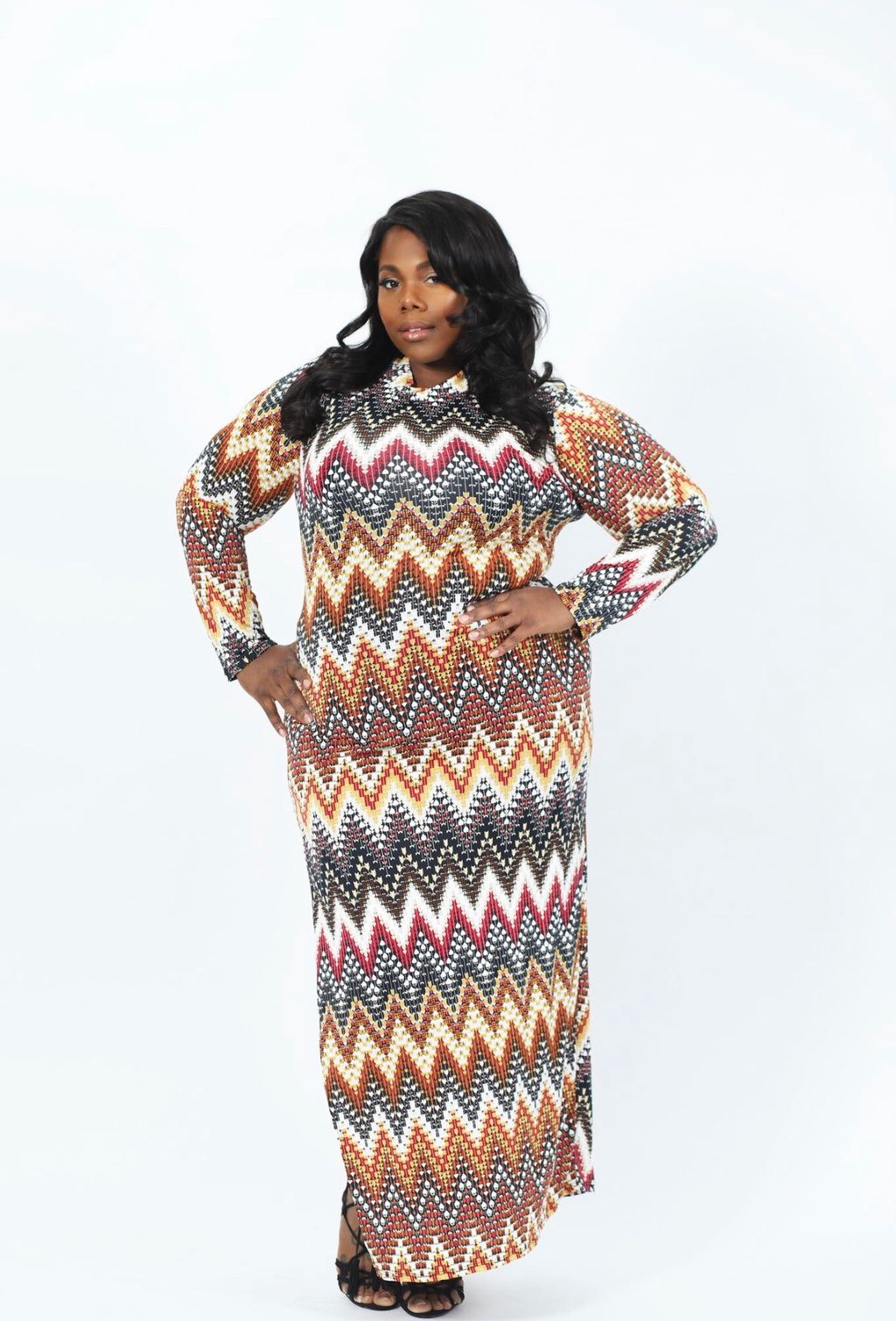 Love on Fire Dress- Multicolor
