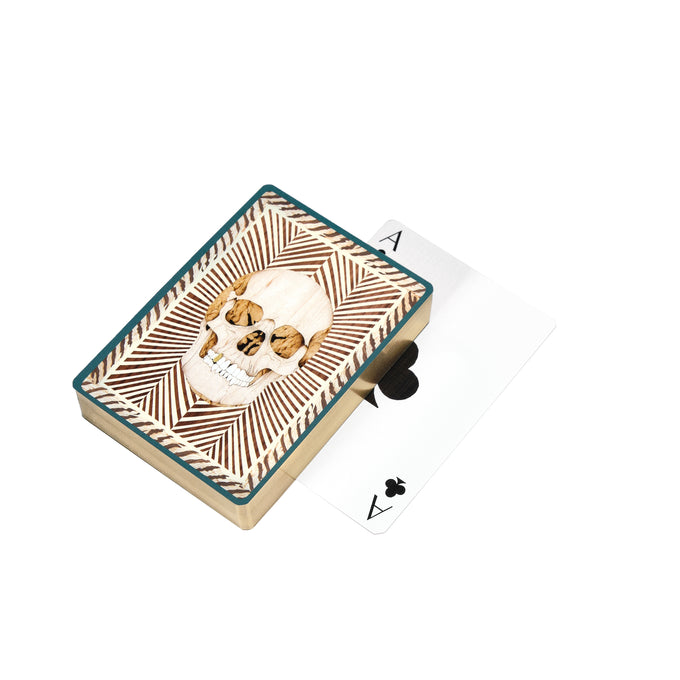 Skull Playing Cards | Turquoise