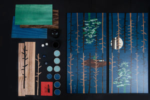 Tom Hammick Backgammon Set