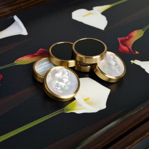 Lily Backgammon Set