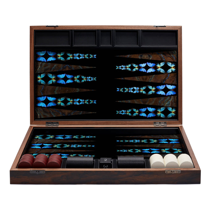 Butterfly Backgammon Set