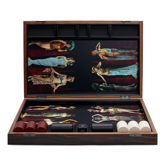 Carnival Backgammon Set
