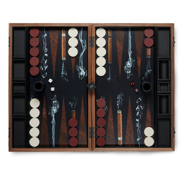 Cigar Backgammon Set