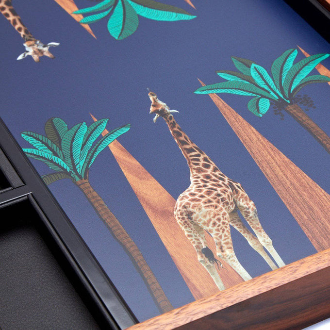 Giraffe Backgammon Set