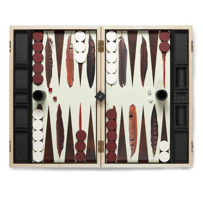 Backgammon Set - Pheasant