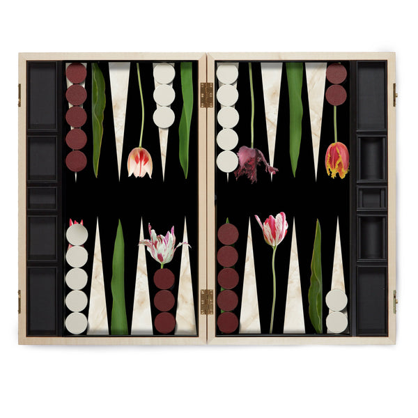 Tulip Backgammon Set