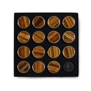 Tiger Eye Playing Pieces