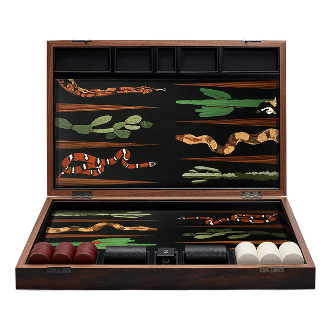 Snake Backgammon Set