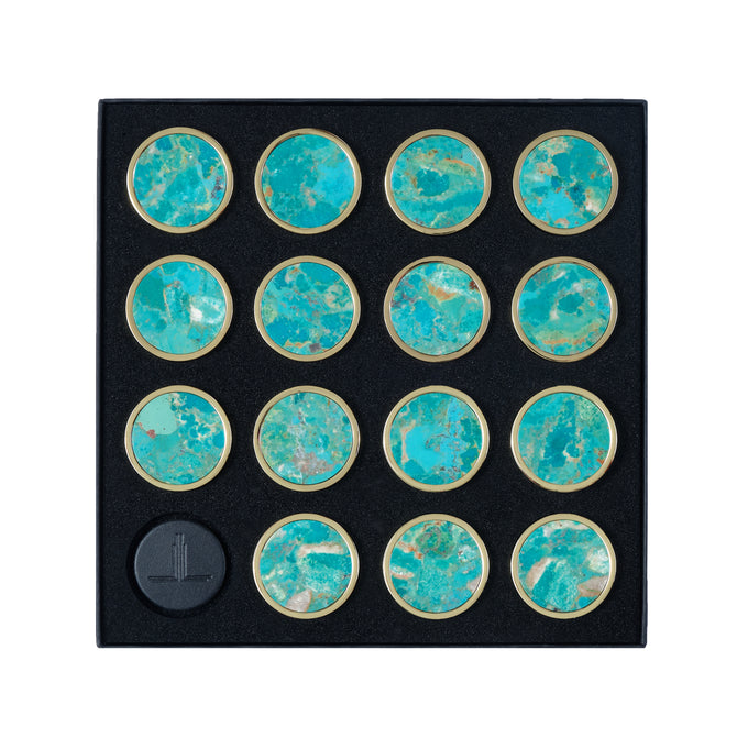Turquoise Playing Pieces
