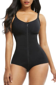 SLIMMING ZIP AND HOOK BODYSUIT