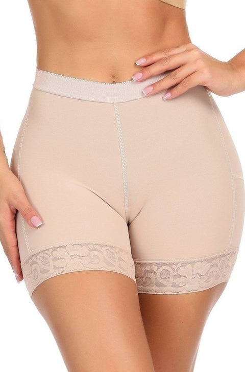LUX POWER MESH SHAPER SHORT - BUTT LIFT