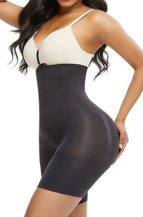 Seamless Power High Waisted Shaping Shorts - KillerWaist
