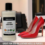 Ninamar Premium Leather Conditioner- Beeswax, Coconut Oil, Carnauba & Aloe - 4 oz - Foot Matters