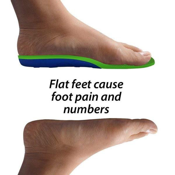 e8d7e45298 ... FootMatters Stabilizer Support Orthotic Insoles - Arch Support,  Metatarsal and Heel Cradle Help Relieve Plantar ...