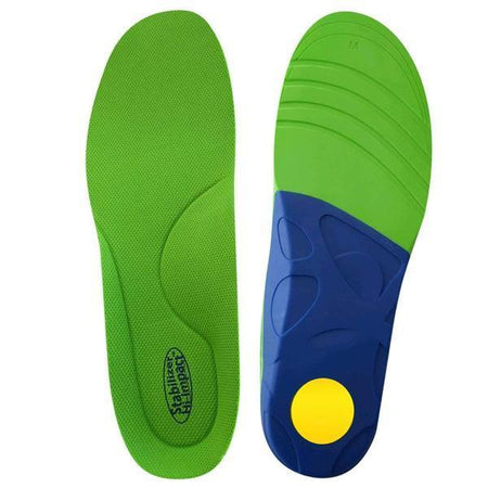 JobSite Gel Sport Insoles - Gel Heel Shock Buster & Comfort Forefoot Gel Cushion - Help Prevent Everyday Foot Pain, Heel Pain, Ball of Foot Pain & Plantar Fasciitis