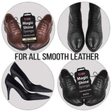 JOB SITE Instant Express Leather Boot & Shoe Shine Sponge - Neutral - 2 Pack - Foot Matters