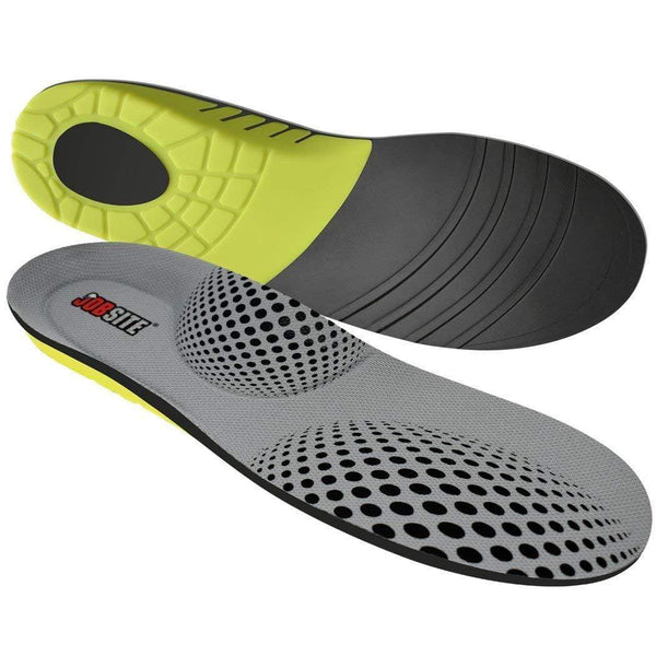 JobSite Power Tuff Anti-Fatigue Support Work Orthotic Insoles - Foot Matters