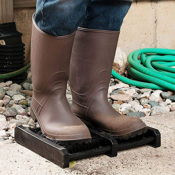 JobSite Boot Scrubber Brush Mat - Scrub & Scrape Muddy Shoes - Foot Matters