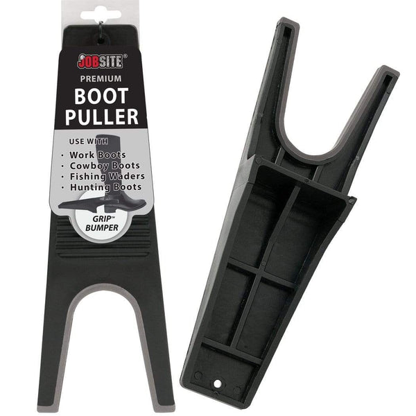 JobSite Premium Boot Puller - Rubber Grip Inlay - Shoe & Boot Remover (1 unit) - Foot Matters