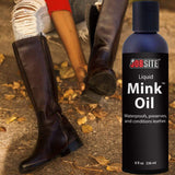 JobSite Premium Mink Oil Leather Waterproof Liquid - 8 oz. - Foot Matters