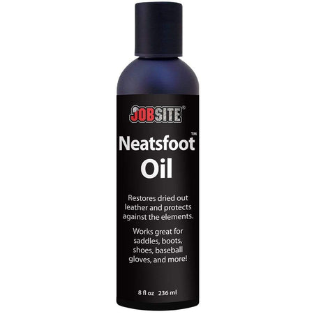 JobSite Premium Mink Oil Leather Waterproof Liquid - 8 oz.