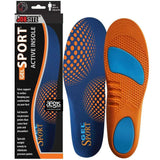 JobSite Gel Sport Insoles - Gel Heel Shock Buster & Comfort Forefoot Gel Cushion - Help Prevent Everyday Foot Pain, Heel Pain, Ball of Foot Pain & Plantar Fasciitis - Foot Matters
