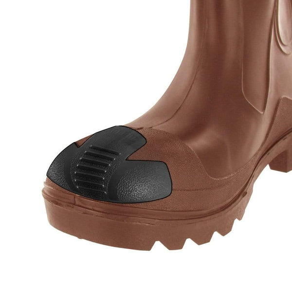 JobSite Heavy Duty Boot Toe Guards - Boot Toe Protector Cover - Extend Boot Life & Protect Against Boot Scuffs - Foot Matters