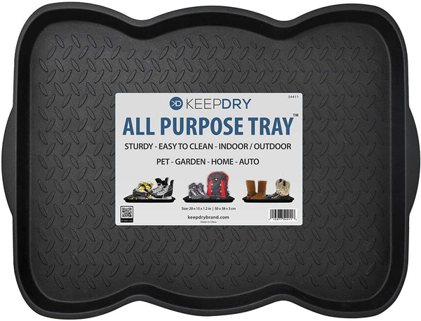 KeepDry Boot Tray – 20 x 15 Inch - 1 Tray