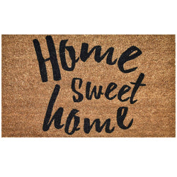 Ninamar Door Mat Home Sweet Home Natural Coir - 75 x 45 cm - Foot Matters