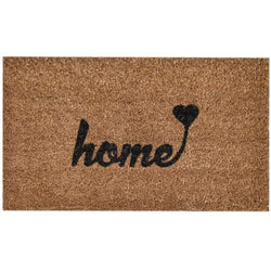 "Ninamar Door Mat ""Home"" Natural Coir - 29.5 x 17.5 inch - Foot Matters"