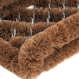 Ninamar Natural Coir Boot Scrubber Door Mat - 12 x 13 inch - Foot Matters