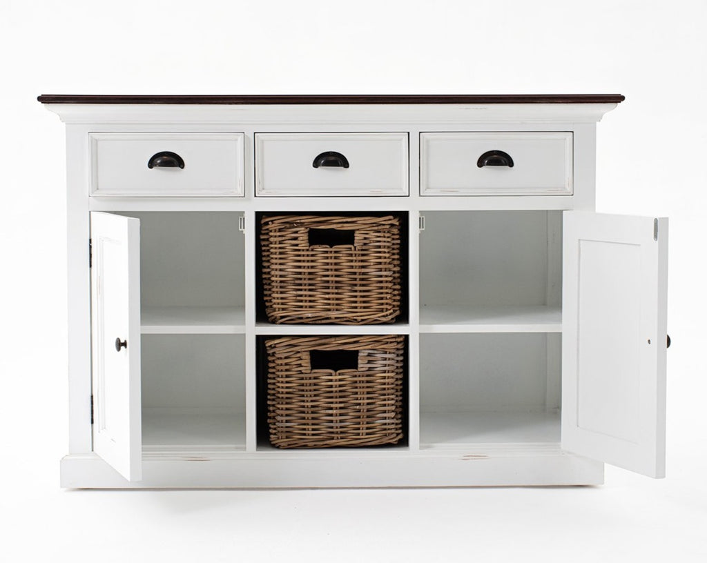 Halifax Accent Buffet with 2 Baskets