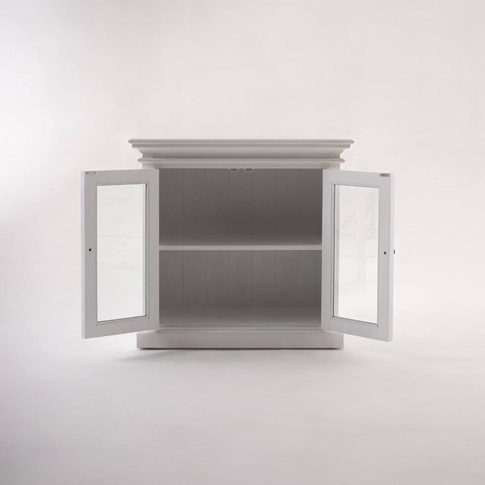 Halifax Glass Display Buffet with 2 Doors