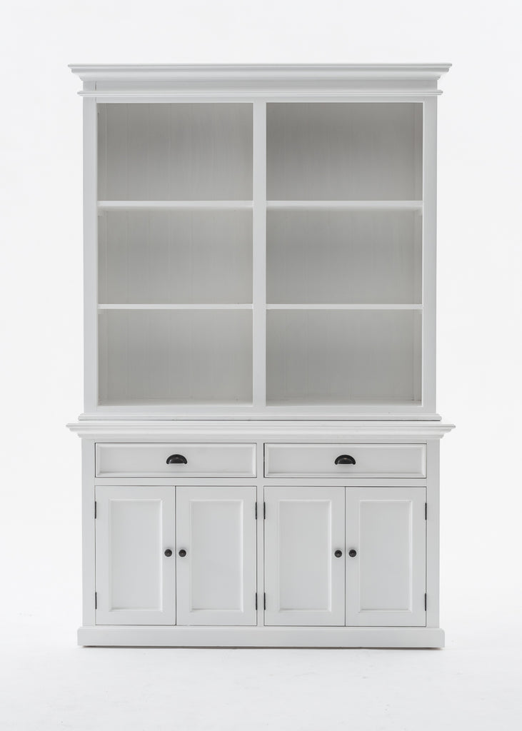 Buffet Hutch Unit with 6 Shelves