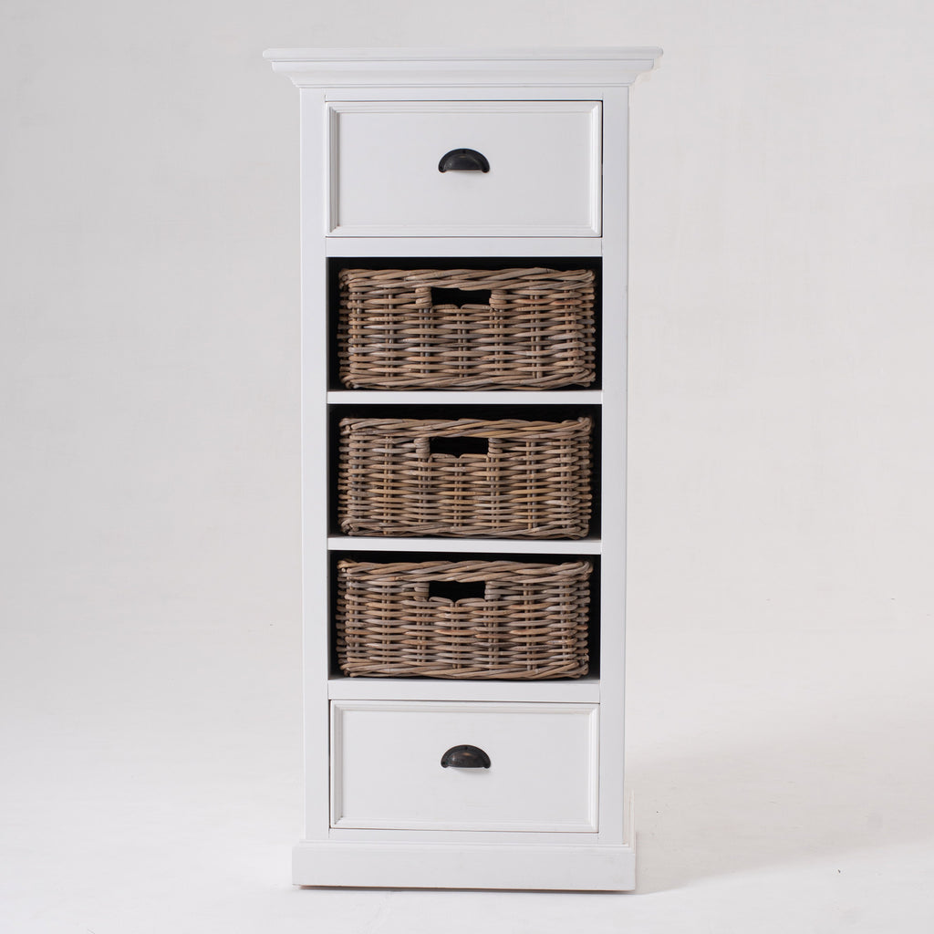 Halifax Grand Storage Unit with Basket Set