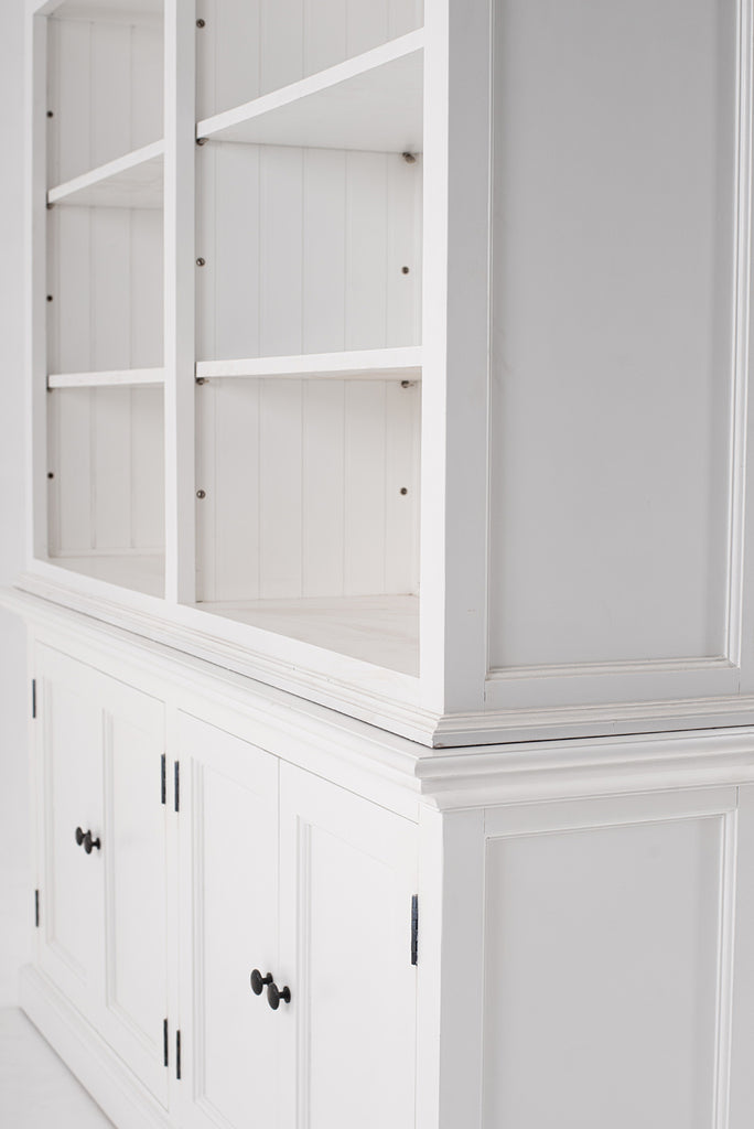 Halifax Double-Bay Hutch Cabinet