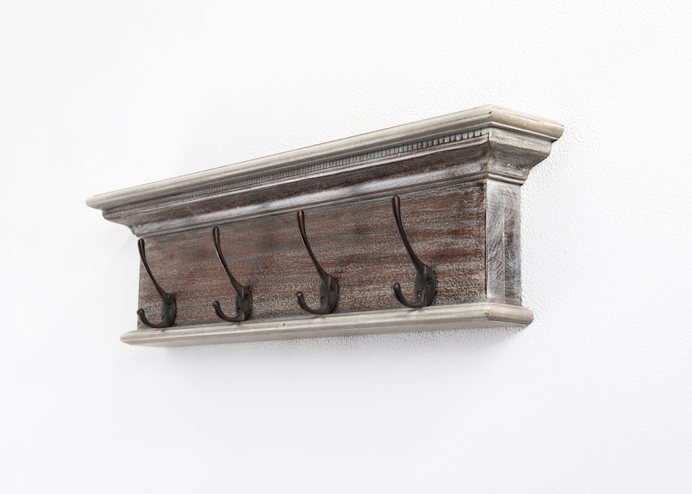Halifax Coat Rack - Natural Wash