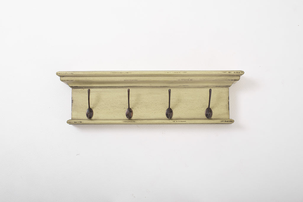 Halifax Coat Rack - Yellow Black Antique