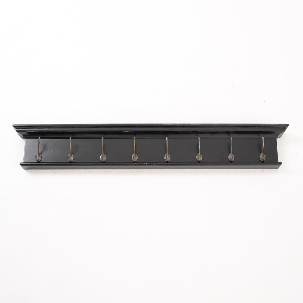 Halifax Coat Rack - Black White Antique
