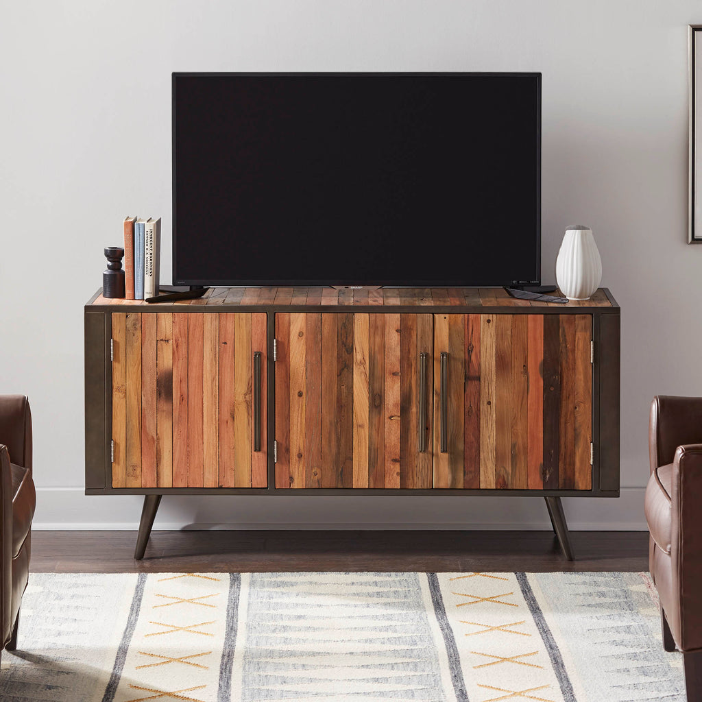 Nordic TV Dresser with 3 Doors