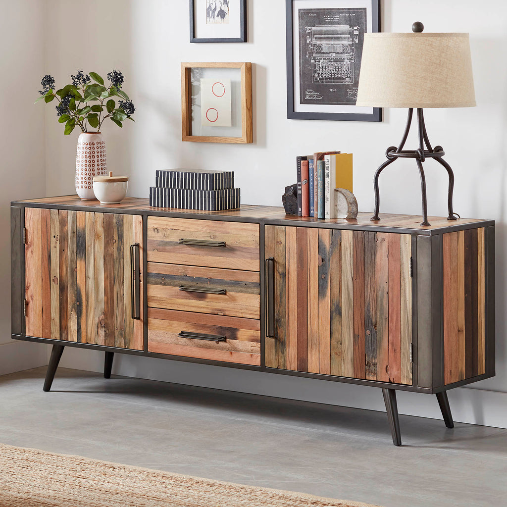 Nordic Buffet with 2 Doors 3 Drawers