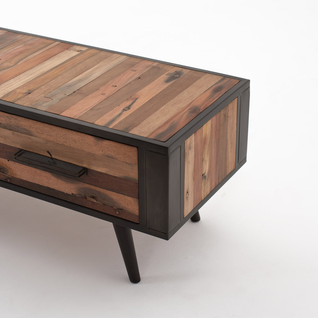Nordic TV Dresser with 2 Drawers
