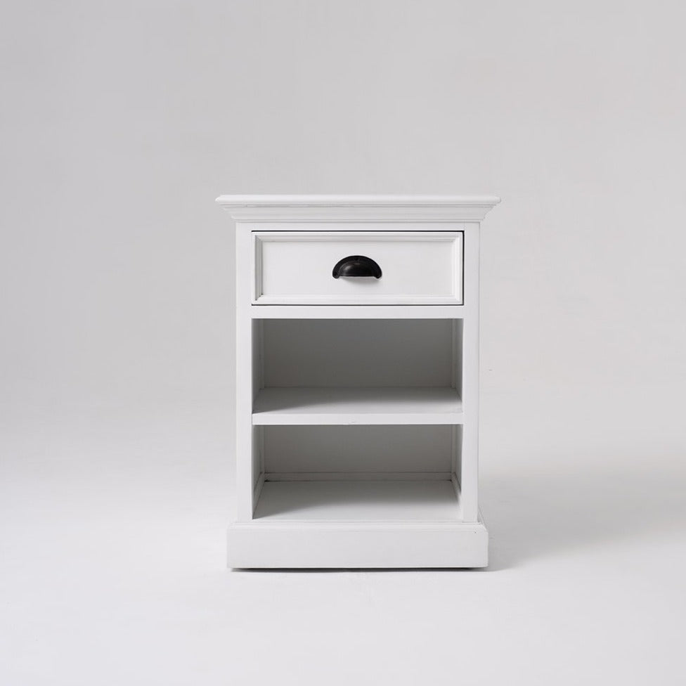 Halifax Bedside Table with Shelves