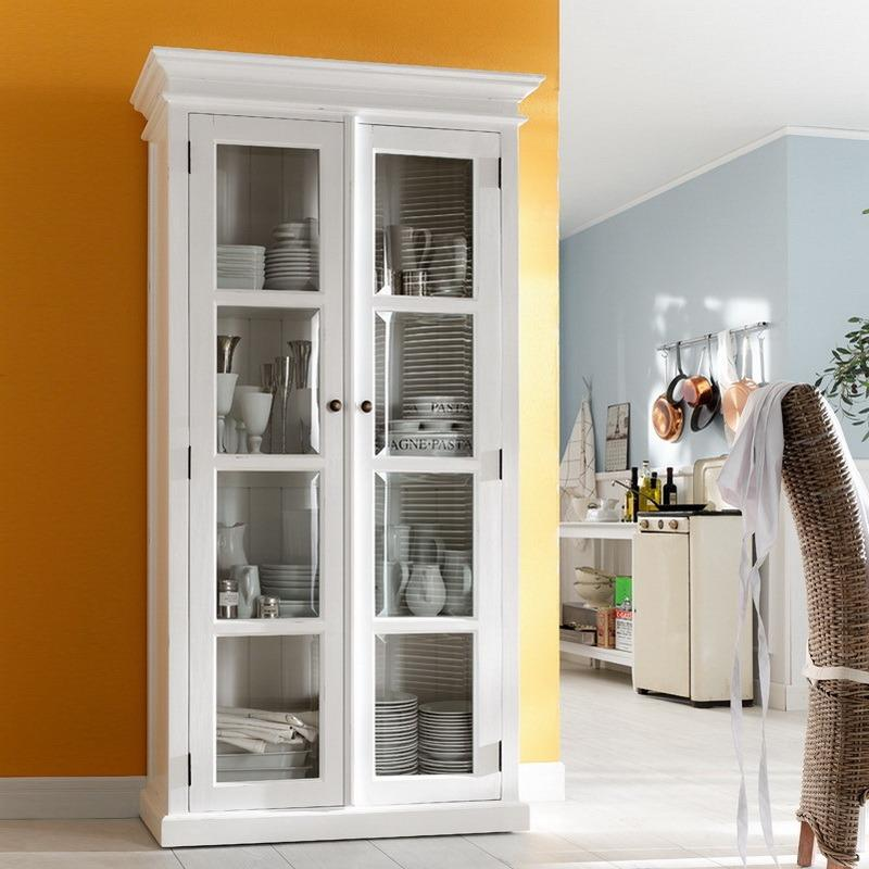 Halifax 2 Door Glass Cabinet-Cabinet-Hygge Home US