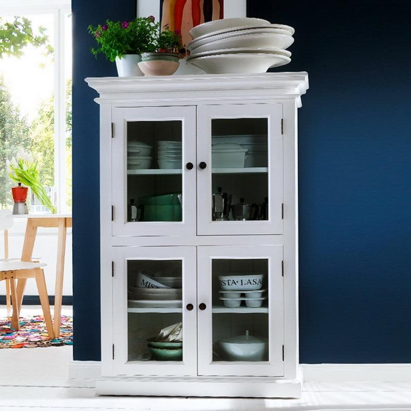 Halifax 2 Level Pantry with 4 Doors-Pantry-Hygge Home US